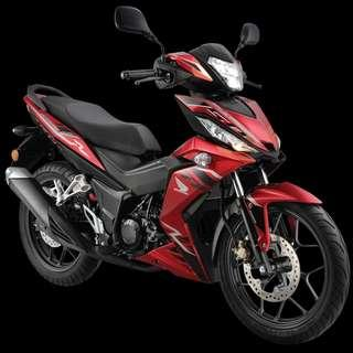 Honda RS150 gtr D/P $500 or $0 With out insurance (Terms and conditions apply. Pls call 67468582 De Xing Motor Pte Ltd Blk 3006 Ubi Road 1 #01-356 S 408700.