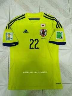 Japan away jersey 2014