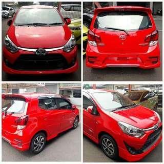 Toyota agya calya avanza rush sienta Alphard