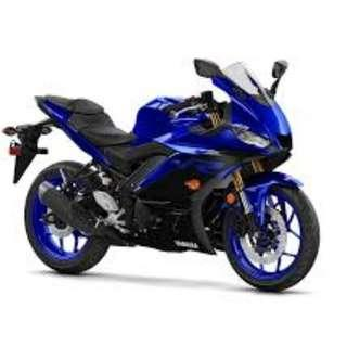 Yamaha R15  V3 D/P $500 or $0 With out insurance (Terms and conditions apply. Pls call 67468582 De Xing Motor Pte Ltd Blk 3006 Ubi Road 1 #01-356 S 408700.