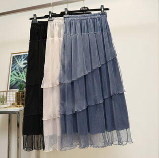 (Free Size) Ladies Tulle Skirt #5354