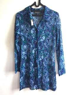 Batik / Brokat Biru