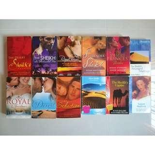 Mills & Boon - Desert Rogues series by Susan Mallery