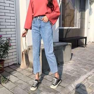 🚚 High waist Denim Jeans