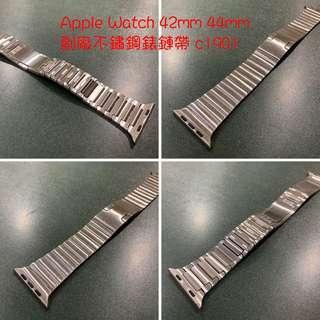 🚚 Apple Watch 42mm 44mm 副廠米蘭錶帶(粉) c1901