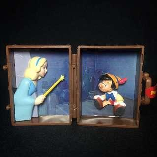 Takara Tomy A.R.T.S. Disney Pinocchio scene luggage
