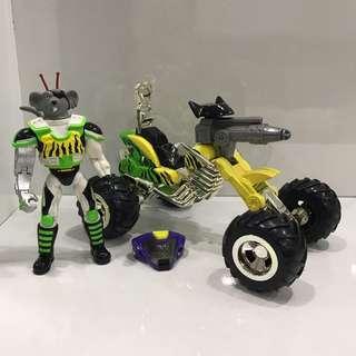 🚚 Biker Mice From Mars Modo's Duneripper ATV Cycle
