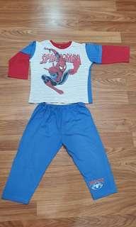 Baju tidur Spiderman 6