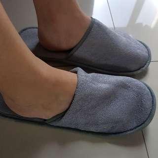 Sandal Tidur / Sandal Rumah / Sandal WC Anti Slip Keset Grey Abu Slip On