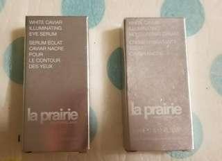 la prairie  魚籽精華眼霜 7ml sample