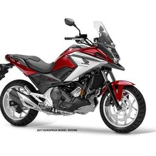 Honda NC750XA D/P $500 or $0 With out insurance (Terms and conditions apply. Pls call 67468582 De Xing Motor Pte Ltd Blk 3006 Ubi Road 1 #01-356 S 408700.