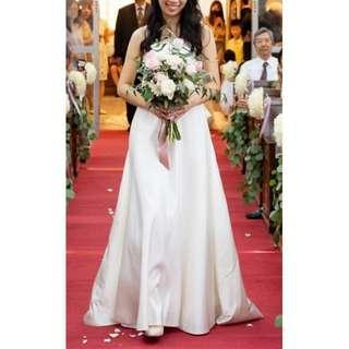 訂製簡約款新娘/伴娘禮服
