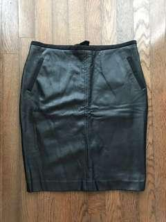 Cleo Leather Skirt