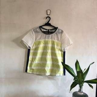 Zara ins yellow top