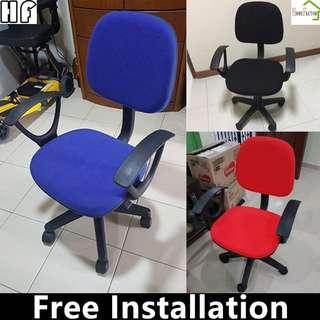 🚚 Office chair/Study chair/Ergonomic chair/01(Black Red,Blue