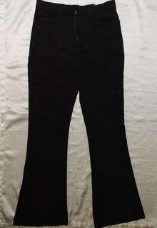 Black & khaki slacks