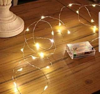 Led Copper Lights {Available In Various Length}