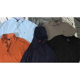 Branded shirts (polo, T-shirt, long-sleeved, hoodie)