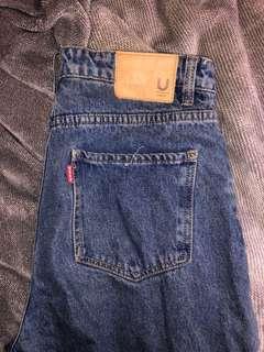 USED boyfriend jeans