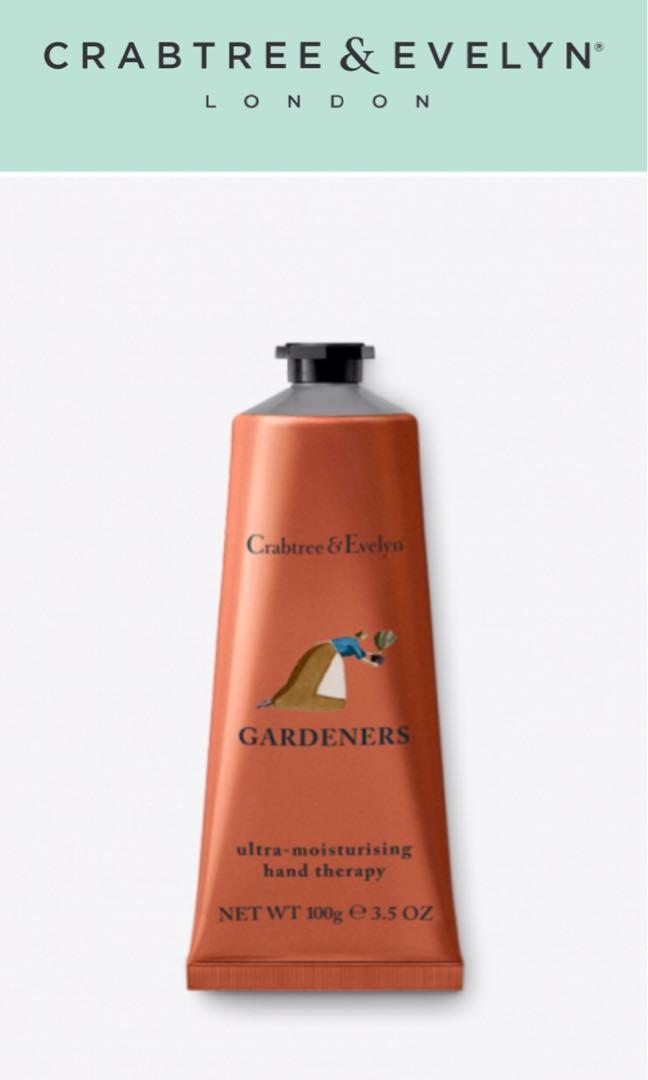 100%全新正貨Crabtree & Evelyn Hand Theraphy 100ml~ Gardeners (皇牌潤手霜),每枝只售$120