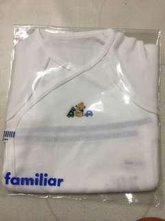 🚚 日本Familiar嬰兒短袖紗布衣
