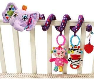 🚚 🌟PM for price🌟 🍀Baby Rattles Mobiles Teether Crib Soft Plush Toy🍀