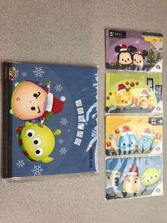 MTR港鐵 Disney Tsum Tsum 聯萌歡度聖誕 紀念車票