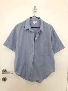 Seed heritage blue button up