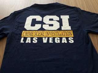 CSI  Las Vegas UNISEX tshirt