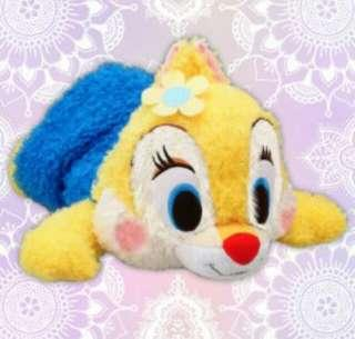日本直送景品~Claris - Soft Red-cheek Laying Plushy - Mega Jumbo 毛公仔