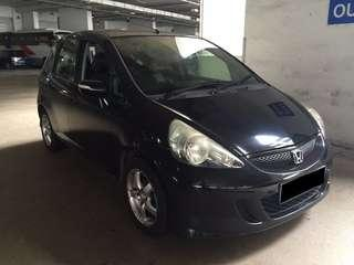29.03.19 TO 01.04.19 FRI-MON HONDA JAZZ $180 (P PLATE WELCOME) (PICKUP AT SEMBAWANG MRT)