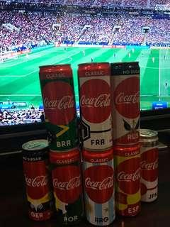 Coca Cola World Cup 2018 Cans