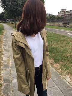 🚚 墨綠色外套 #半價衣服市集