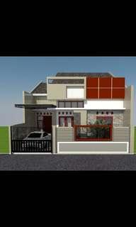 Rumah Minimalis pondok kelapa Jakarta timur