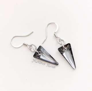🚚 Handmade Swarovski Crystal Earrings