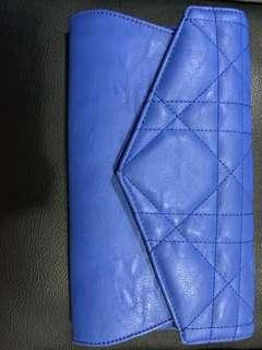 GAUDI BLUE CLUTCH (with defects)