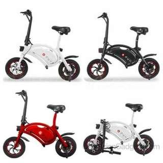 LG DYU Seated Electric Scooter (Designed by ex-Huawei engineer) F-wheel