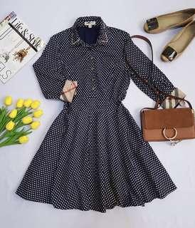 Burberry Brit polka dress
