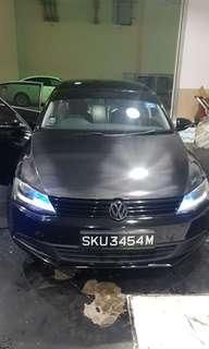 Volkswagen jetta face lift for rent