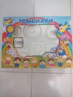 Ex Kado - Nishikawa Feeding Set / Perlengkapan Makan Baby