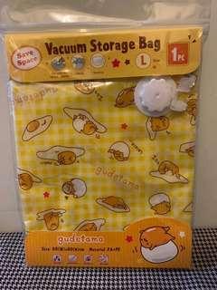 包平郵📮Sanrio Gudetama Squeezy travel storage bag 蛋黃哥旅行壓縮袋 大size