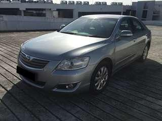 29.03 TO 01.04 FRI-MON TOYOTA CAMRY $210 (P PLATE WELCOME) (FREE PICKUP AT SEMBAWANG MRT)