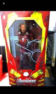 "CHEAPEST !! Iron Man Mark VII 7 Battle Damage Ver NECA Avengers 1/4 Scale 18"" Action Figure"