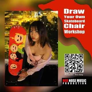 Draw Your Own Skateboard Chair Workshop (a)