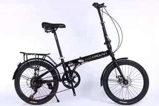 """🚚 Bicycle 20"""" Crolan Folding Bike Black"""