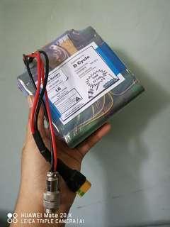 52v 10.5ah LG MJ1 Battery built by SafeBatt