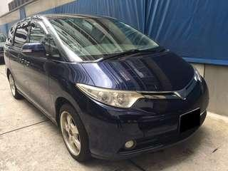 29.03 TO 01.04 FRI-MON TOYOTA ESTIMA 8 SEATER $360 (P PLATE WELCOME) (FREE PICKUP AT SEMBAWANG MRT)