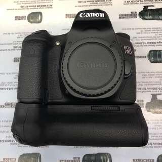 Canon EOS 70D + BG-E14 Grip