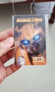 Transformers Bumble Bee Nets Flashpay card