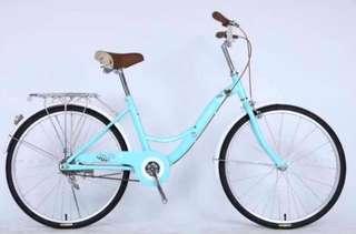 "🚚 Bicycle 24"" Crolan Lady Bike Blue"
